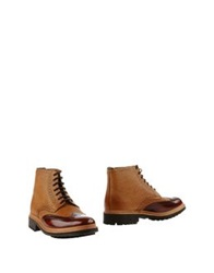 Grenson Ankle Boots Camel