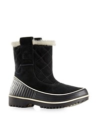 Sorel Tivoli Ii Quilted Leather Winter Boots Black