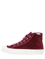 Novesta 20Mm Corduroy High Top Sneakers