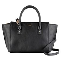 Radley Wimbledon Medium Leather Shoulder Bag Black