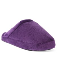 Charter Club Super Soft Slippers Only At Macy's Winter Ruby
