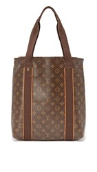 Wgaca Louis Vuitton Monogram Beaubourg Cabas Tote Previously Owned