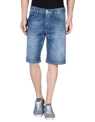 Love Moschino Denim Bermudas Blue