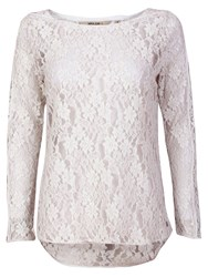Garcia Women Embroidered Top Off White