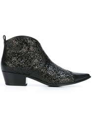 Tomas Maier Western Boots Black