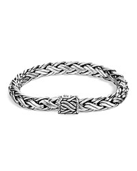 John Hardy Men's Classic Chain Sterling Silver Medium Woven Bracelet
