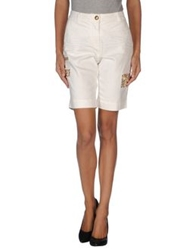 Blugirl Folies Denim Bermudas White