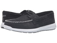 Sperry Sojourn Nubuck Black Men's Lace Up Moc Toe Shoes