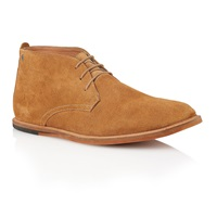 Frank Wright Strachan Lace Up Casual Chukka Boots Brown
