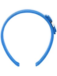 Salvatore Ferragamo 'Vara' Headband Blue