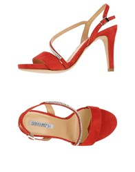 Donna Piu Footwear Sandals Women Red