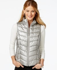 Inc International Concepts Embellished Puffer Vest Only At Macy's