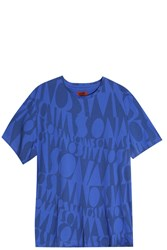 Missoni Logo T Shirt Blue