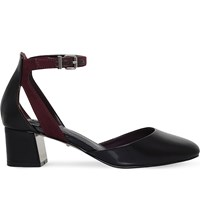 Carvela Antonia Cut Out Patent Courts Wine