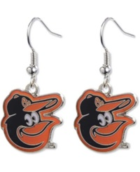Aminco Baltimore Orioles Logo Earrings Team Color