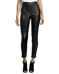 Cusp By Neiman Marcus Faux Leather Leggings Black