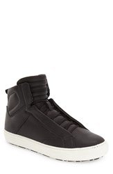 Aldo Men's 'Qelalle' High Top Sneaker Black Leather