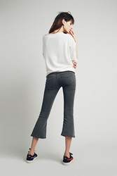 Free People Pull On Cropped Flare