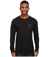 Billabong Rotor Long Sleeve Tee Black Men's T Shirt