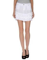 Guess Mini Skirts White