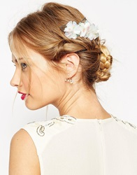 Asos Flower And Leaf Hair Comb Multi
