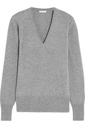 Tomas Maier New Extreme Cashmere Sweater Gray