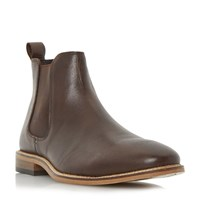 Linea Con Air Leather Chelsea Boots Dark Brown