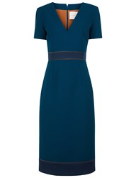 Roksanda Ilincic Blue Laurette Pencil Dress Green
