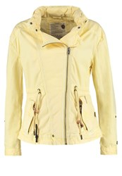Khujo Jeen Summer Jacket Cream Light Yellow
