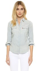 Levi's Modern Sawtooth Button Down Ritter Vintage Light Chambray