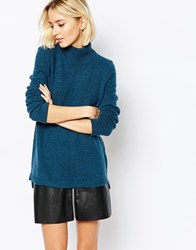 Selected Vena Jumper With Turtle Neck Reflectingpond