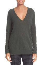 Theory Women's 'Adrianna' V Neck Cashmere Pullover
