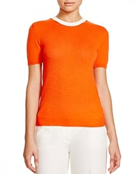 Moncler Cashmere Blend Color Block Knit Tee