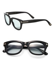 Tom Ford Private Collection Tom N.5 Square Optical Glasses Black