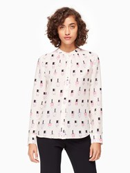 Kate Spade Nail Polish Shirt Palest Rose