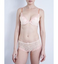 Passionata White Nights Mesh Push Up Bra Rose