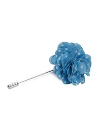 Original Penguin Star Flower Lapel Pin Blue