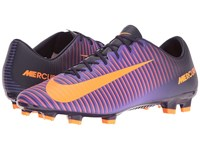 Nike Mercurial Veloce Iii Fg Purple Dynasty Bright Citrus Hyper Grape Men's Soccer Shoes
