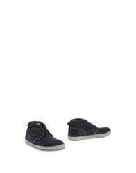 Cycle Ankle Boots Dark Blue