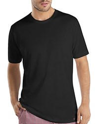Hanro Night And Day Short Sleeve Tee Black