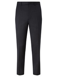 John Lewis Kin By Como Mild Pindot Slim Suit Trousers Airforce Blue