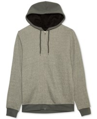 Jem Men's Marled Zip Up Hoodie Oxford