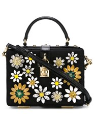Dolce And Gabbana 'Dolce' Box Tote Black