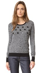 Carven Sweater Black White