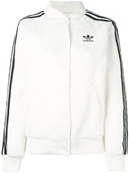 Adidas Originals Bonded Lace Bomber Jacket White