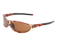 Tifosi Optics Alpe 2.0 Polarized Tortoise Brown Polarized Lens Athletic Performance Sport Sunglasses