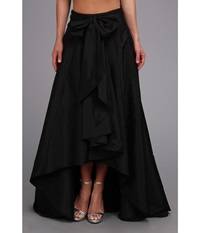 Adrianna Papell High Low Ball Skirt Black Women's Skirt