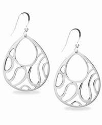 Style And Co. Earrings Silver Openwork Earrings