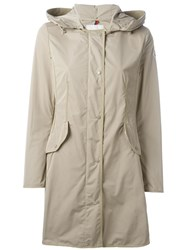 Moncler 'Argeline' Parka Nude And Neutrals