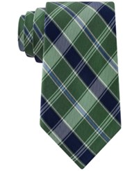 Club Room Men's Traditional Plaid Tie Only At Macy's Green